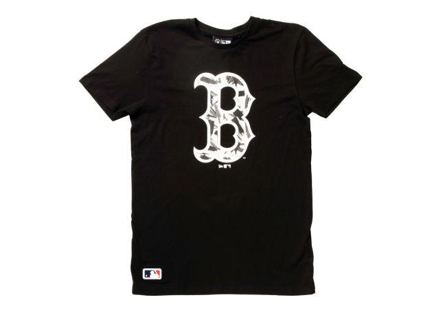 MLB CAMO INFILL TEE RED SOX