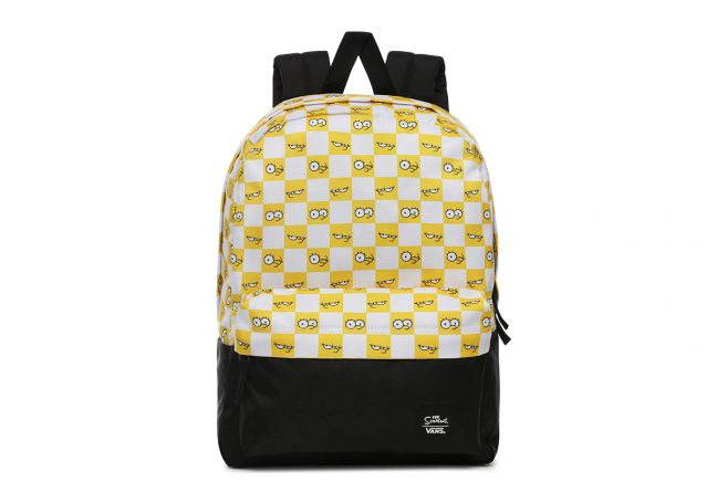 MN VANS X THE SIMPSONS CHECK EYES BACKPACK