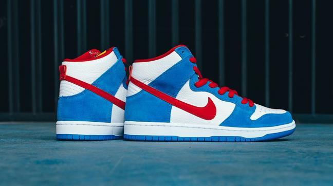 Nike SB Dunk High Kevin Perez Doraemon