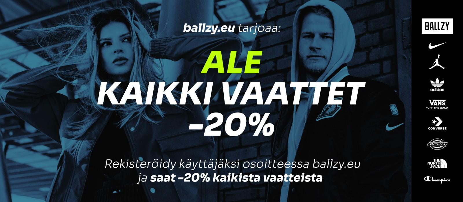 Clothing Sale -20% FI