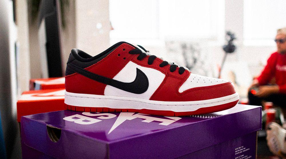 "Nike SB Dunk Low J-Pack ""Chicago"""