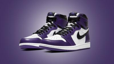 JORDAN 1 HIGH OG ´COURT PURPLE´ 2.0