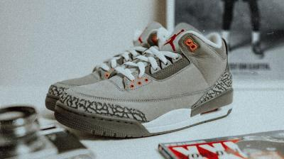 "AIR JORDAN 3 ""COOL GREY"""