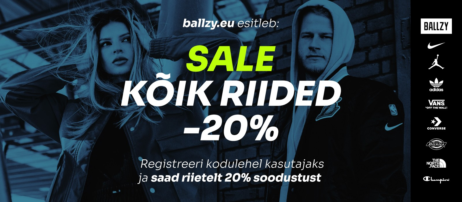 Ballzy Clothing Sale Campaign